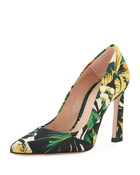 Chicster Jacquard High Pump