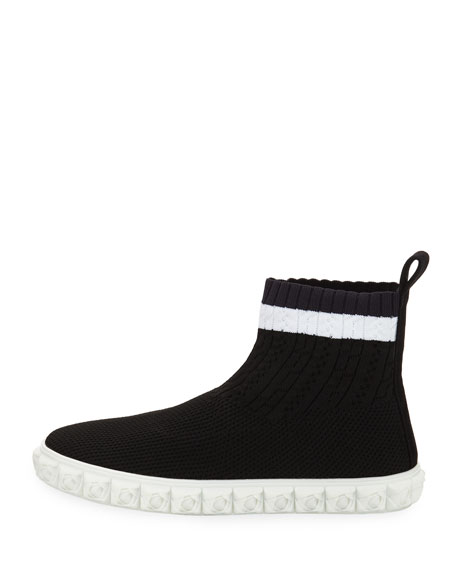 Coverall Pull-On Knit Sneakers