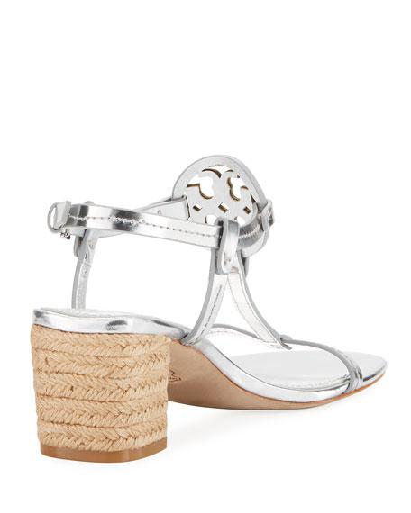 Miller Metallic Espadrille Sandal