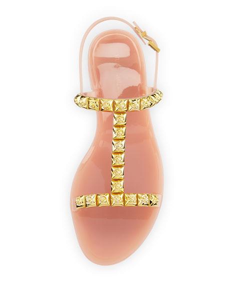 Jelrose Studded Flat Jelly Sandal