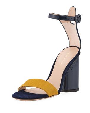 fe062d36a0be8e Stuart Weitzman Kimly Chic City Colorblock Sandal