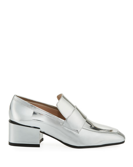 Sawyer Metallic Patent Loafer