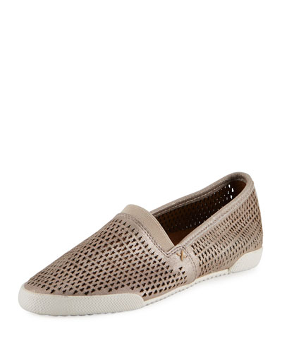 Melanie Perforated Slip-On Sneaker