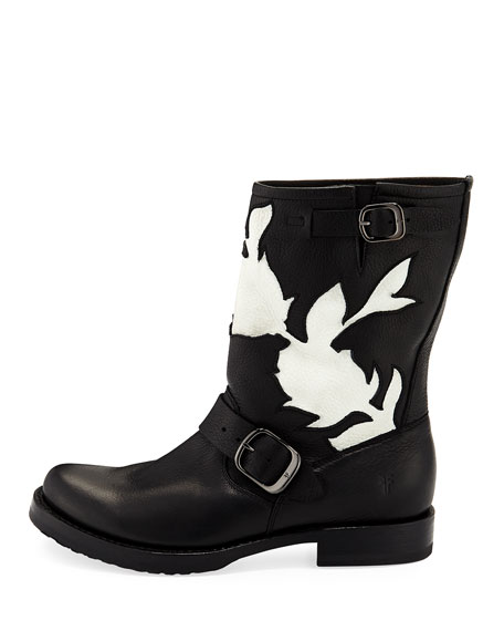 Veronica Floral Cutout Boot
