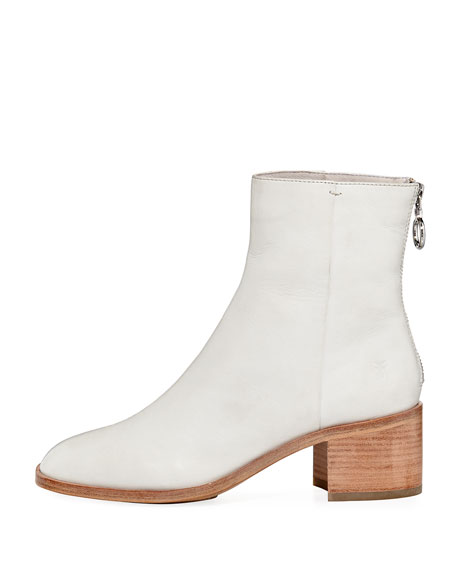Emilia Short Leather Bootie