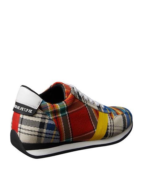 Amelia New Tartan Sneaker