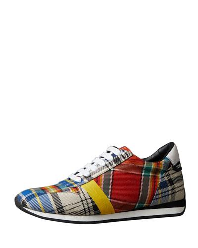 Amelia New Tartan Sneakers