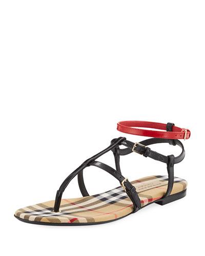 Anthea Flat Colorblock Sandal