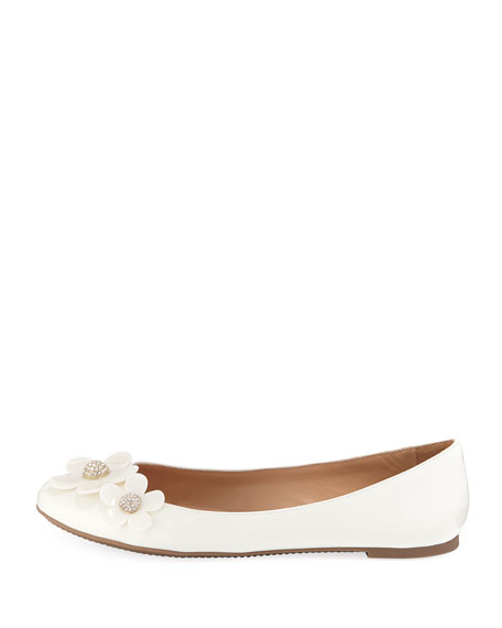 Daisy Leather Ballet Flat