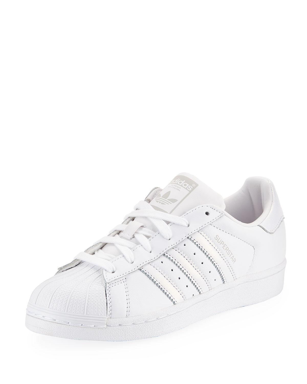Superstar Leather Sneakers | Neiman Marcus