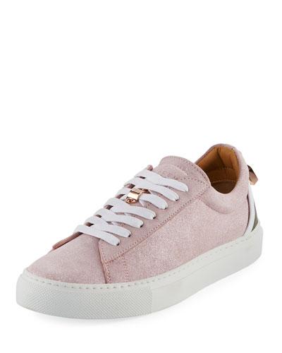 Tennis Lock Gleam Sneaker