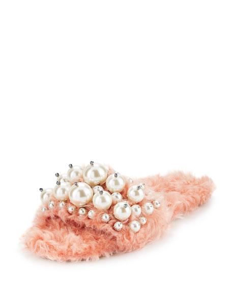 Pearly Slide Sandal