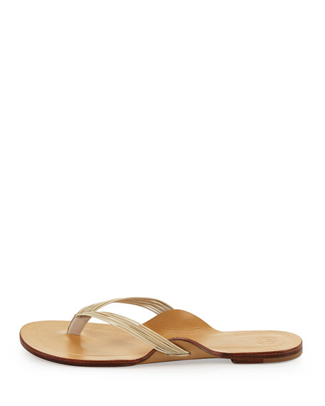 Casablanca Strappy Thong Sandal