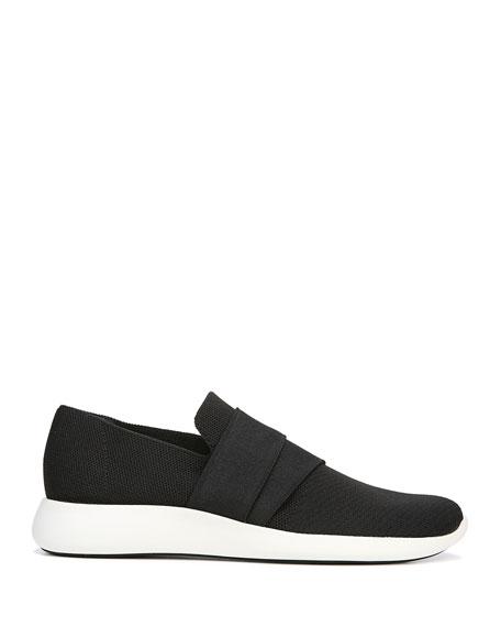 Aston Solid Knit Fabric Slip-On Sneaker