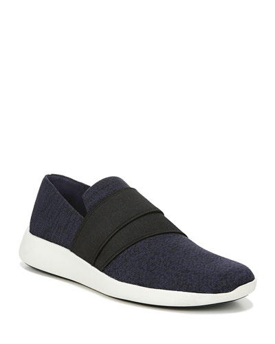 Aston Marled Knit Fabric Slip-On Sneaker
