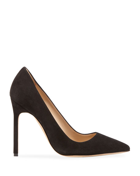 BB Suede 115mm Pumps