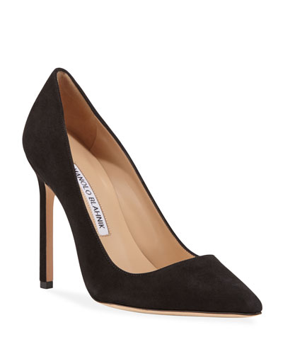 BB Suede 115mm Pump