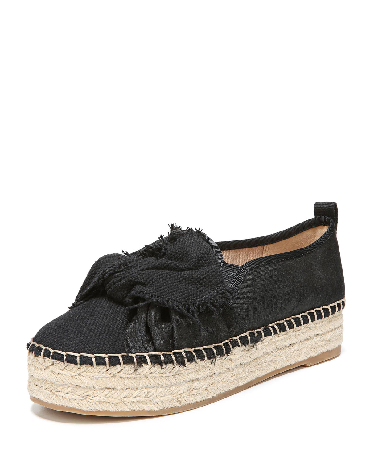0aaa8323f Sam Edelman Cabrera Washed-Out Canvas Platform Espadrille | Neiman ...