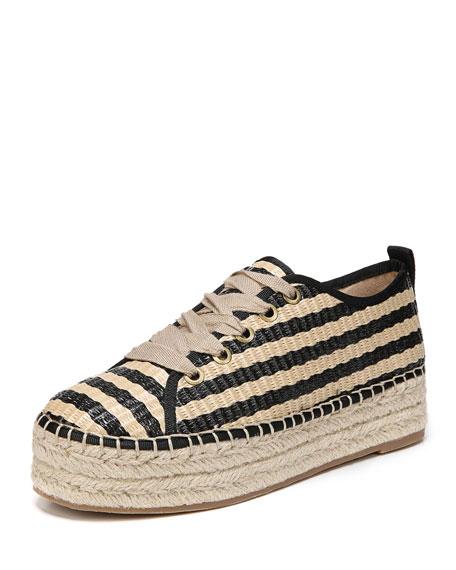 Cabrera Platform Espadrille Lace-Up Sneaker