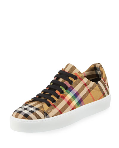 Westford Rainbow Check Low-Top Sneaker