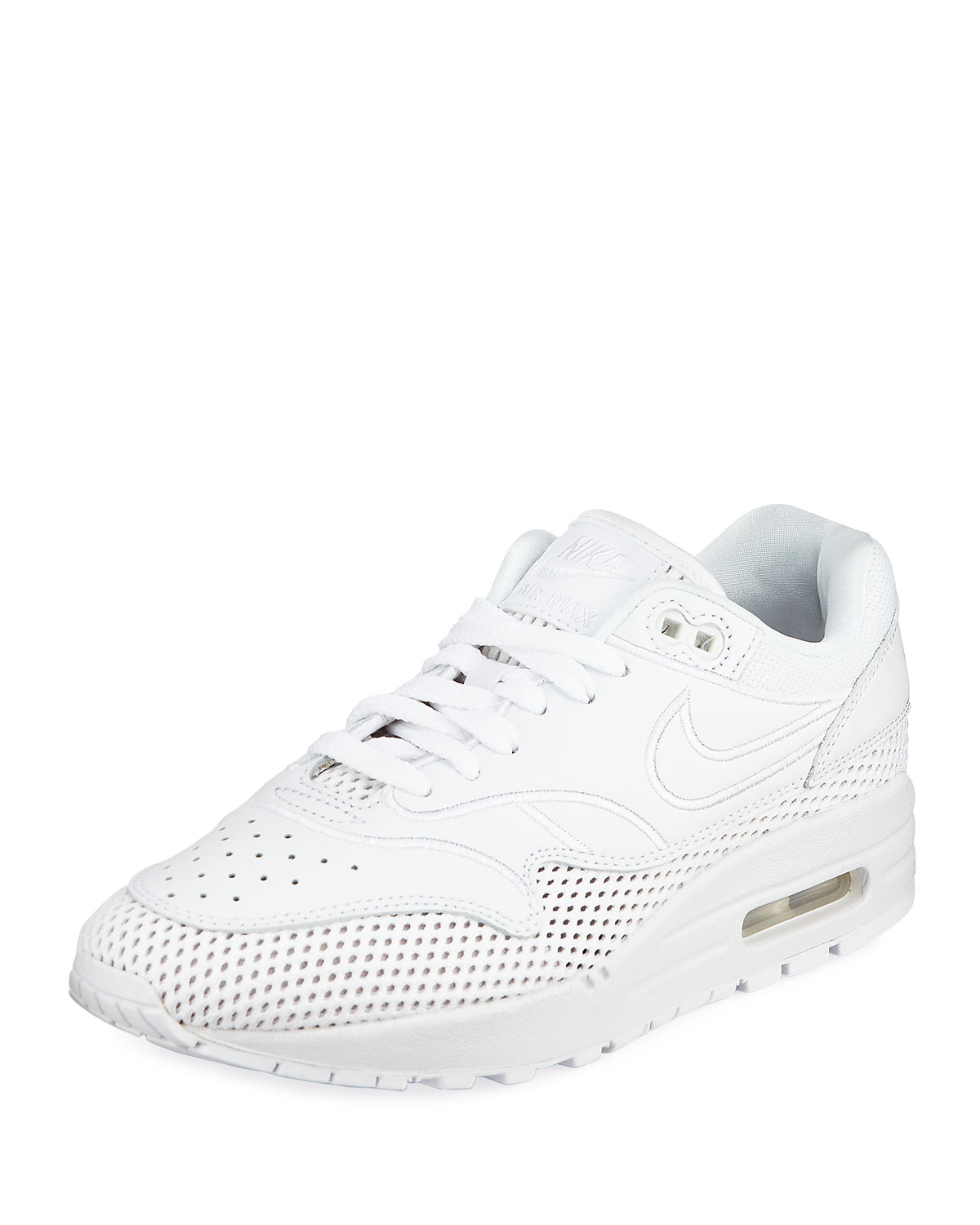 a36c0cfdf2fe8 Nike Air Max 1 Women s Premium Leather Sneakers