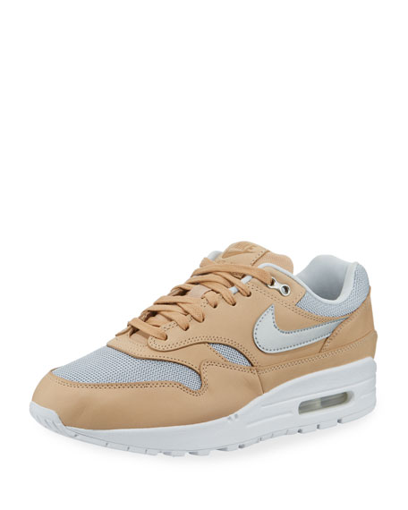 Air Max 1 Mixed-Media Sneakers