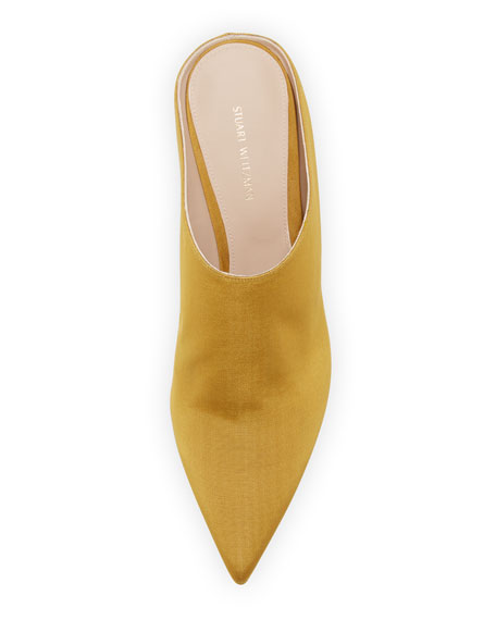 Mira Kitten Pointed Mule, Ochre