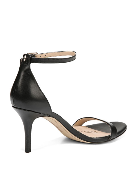 Patti Leather Ankle-Strap Sandal