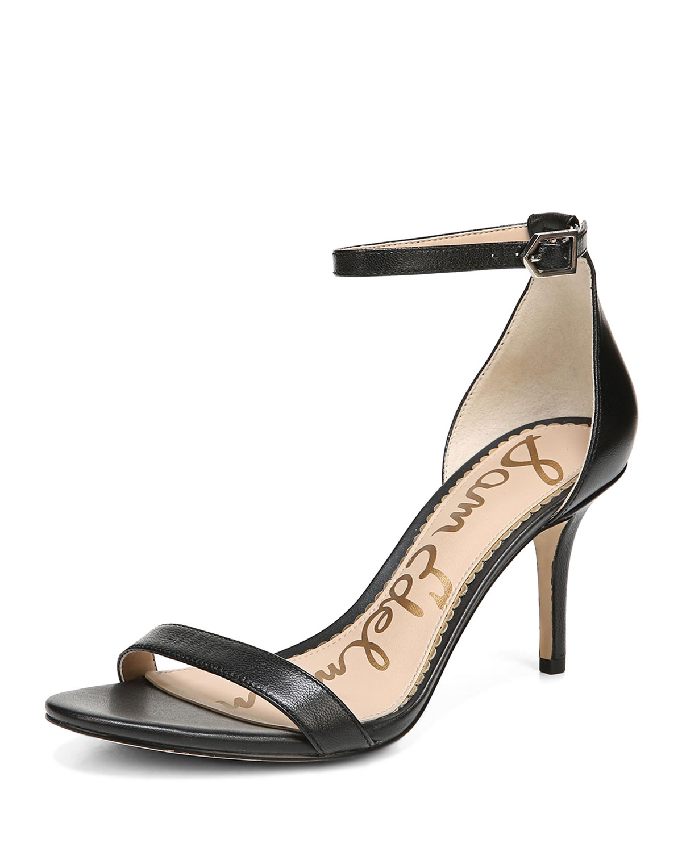 e7a60e34678 Sam Edelman Patti Leather Ankle-Strap Sandal