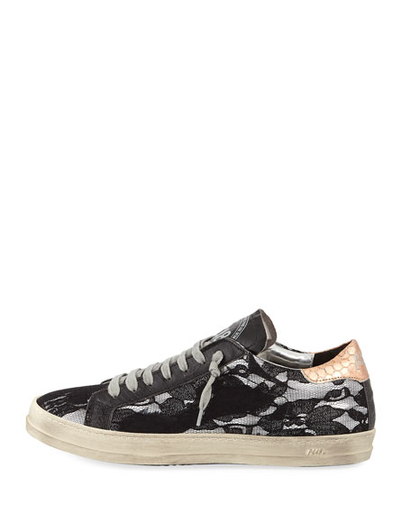 John Lace Platform Low-Top Sneakers