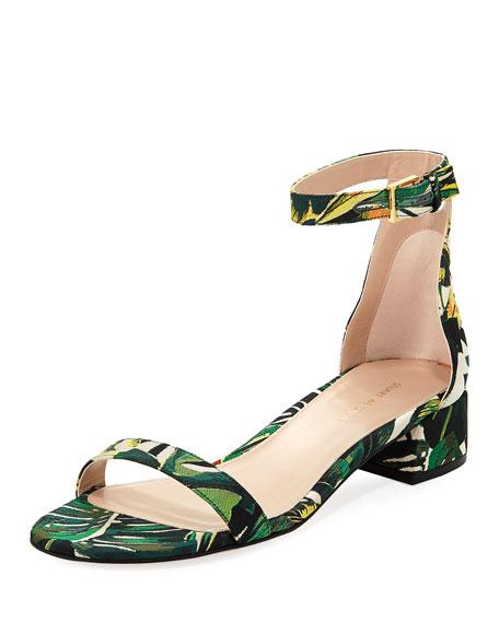 LessNudist 35mm Botanic Jacquard Naked Sandal