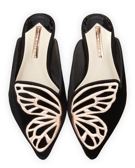 Bibi Butterfly Flat Mules