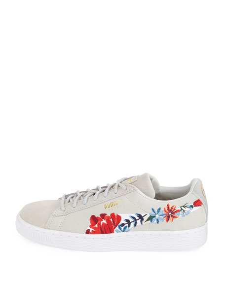 Basket Heart Hyper Embroidered Sneakers
