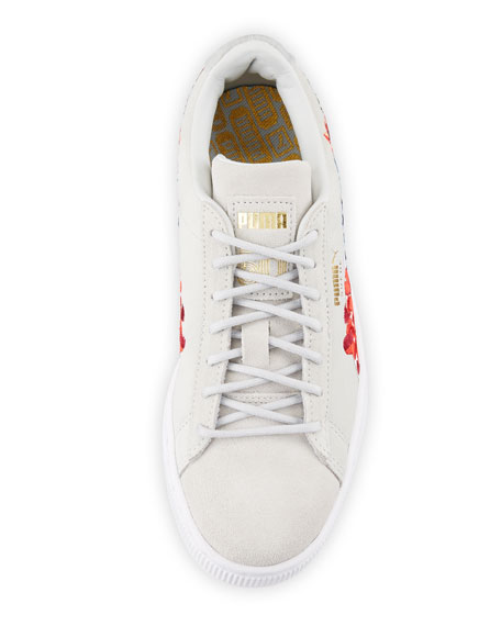 Basket Heart Hyper Embroidered Sneaker