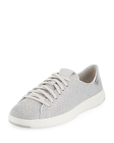 GrandPro Tennis Stitchlite™ Sneaker, Silver