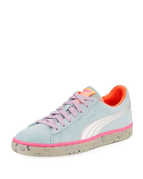x Sophia Webster Candy Princess Suede Sneakers