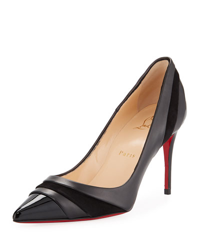 Eklectica 85mm Red Sole Pumps