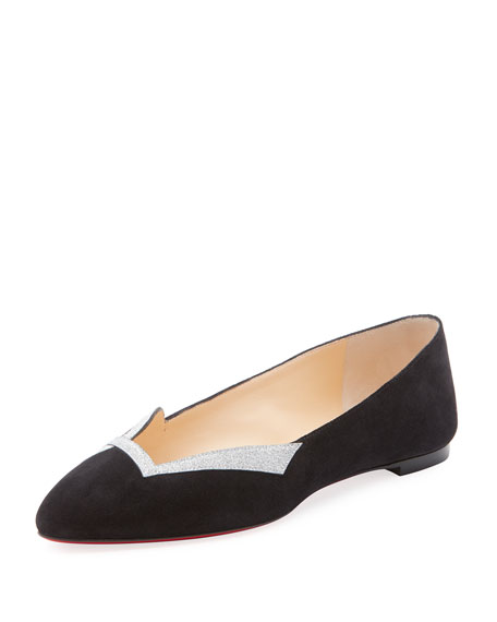 Love Red Sole Ballet Flats