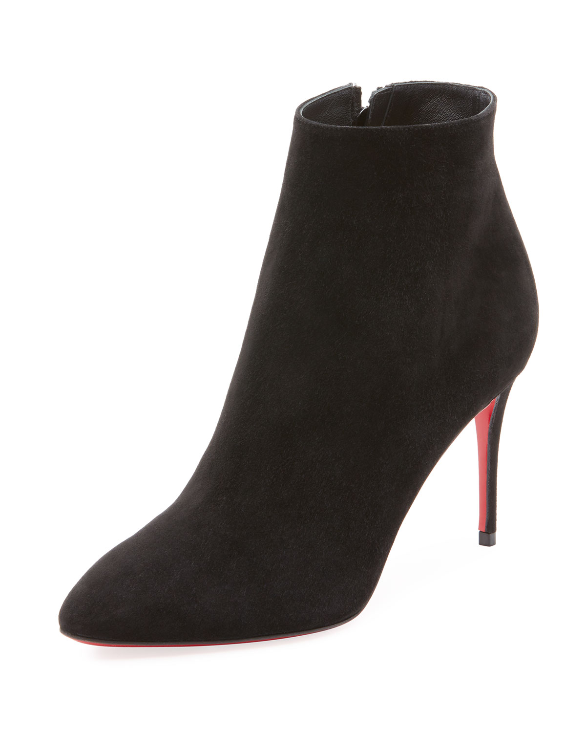 405cd2185d86 Christian Louboutin Eloise Suede Red Sole Booties