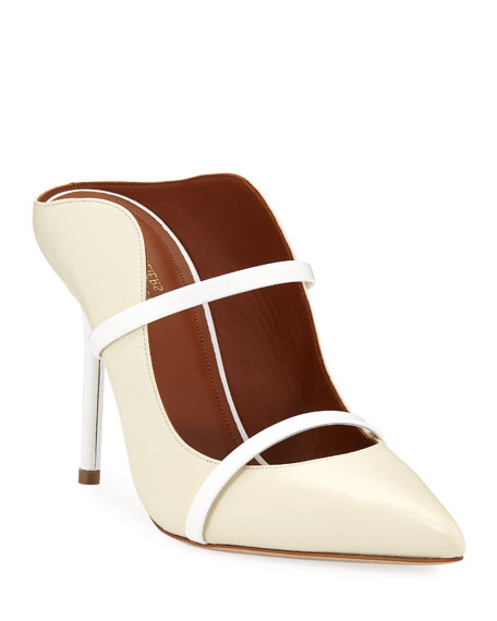 Image 1 of 3: Malone Souliers Maureen Leather Mules