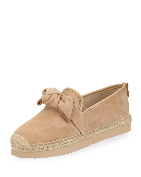 Willa Suede Bow Detail Espadrilles y0DnivpcB