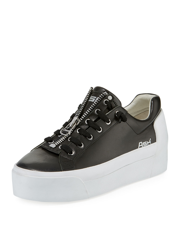9ceb1a168aba7 Ash Buzz Zip Platform Sneaker