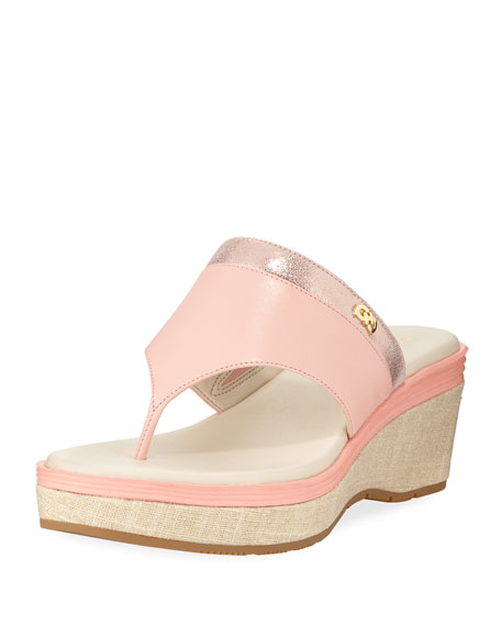 Cole Haan Cecily Grand Thong II Wedge Sandal,