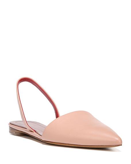 Koko Slingback Ballet Flat, White