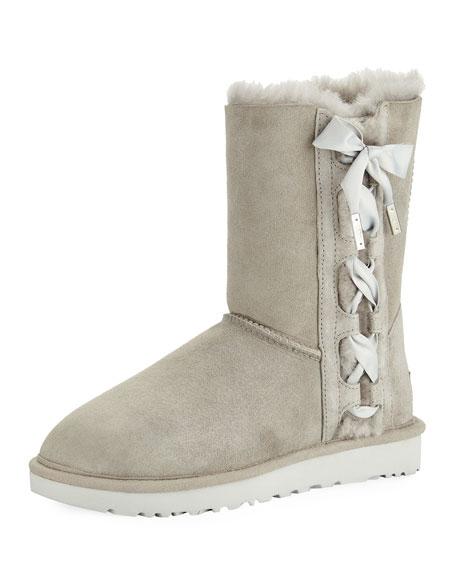 Pala Corset Bow Short Boot