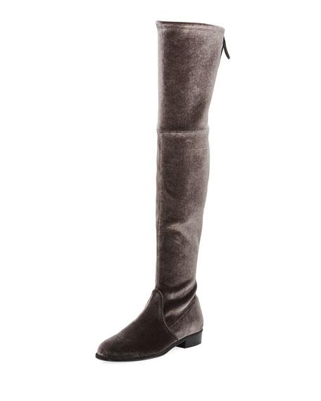 Lowland Velvet Over-The-Knee Boot