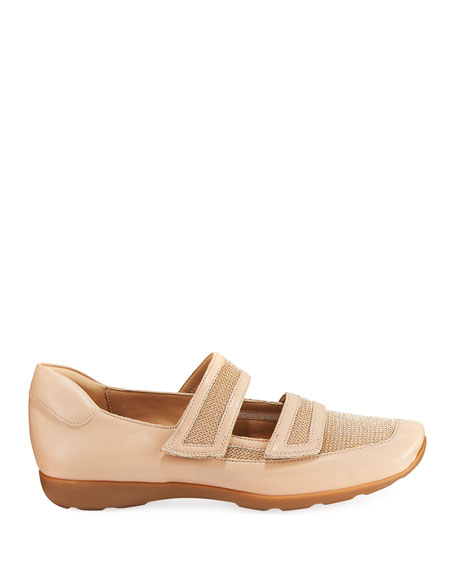 Gyan Napa Leather Mary Jane Sneakers