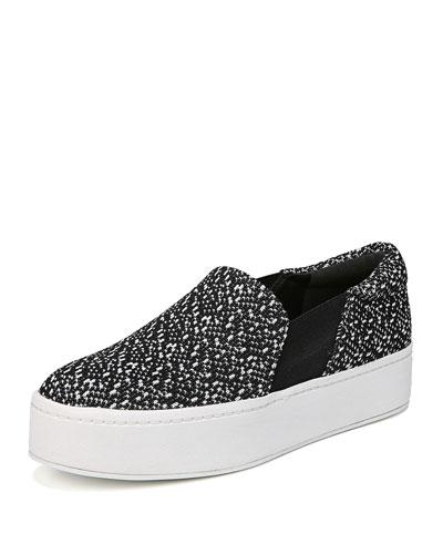 Warren Knit Platform Sneaker