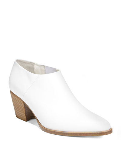 Hamilton Leather Ankle Booties