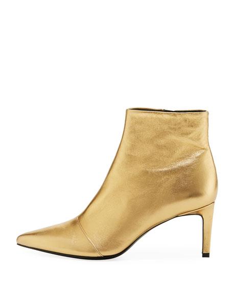 Beha Metallic Zip Boot
